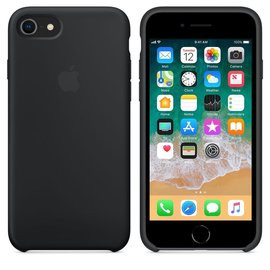 Apple Apple Silicone Case for iPhone 8/7 - Black