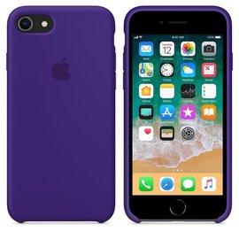 Apple Apple Silicone Case for iPhone 8/7 - Ultra Violet (WSL)