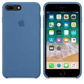 Apple Apple Silicone Case for iPhone 8/7 Plus - Denim Blue