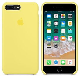 Apple Apple Silicone Case for iPhone 8/7 Plus - Lemonade