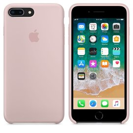 Apple Apple Silicone Case for iPhone 8/7 Plus - Pink Sand