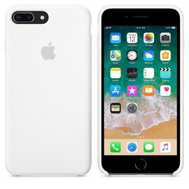 Apple Apple Silicone Case for iPhone 8/7 Plus - White