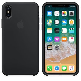 Apple Apple Silicone Case for iPhone X - Black