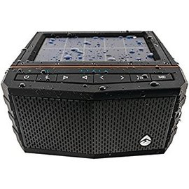 EcoXgear Ecoxgear SolJam Solar Powered Bluetooth Waterproof Speaker Black