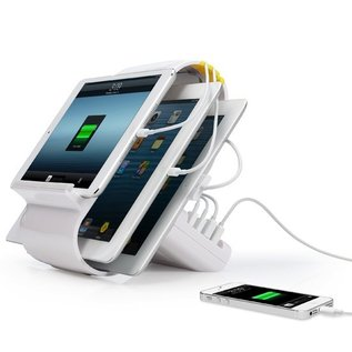 Kanex Kanex Sydnee 4-Port Charging Station White (WSL)