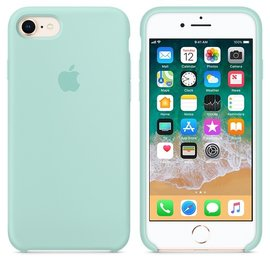 Apple Apple Silicone Case for iPhone 8/7 - Marine Green