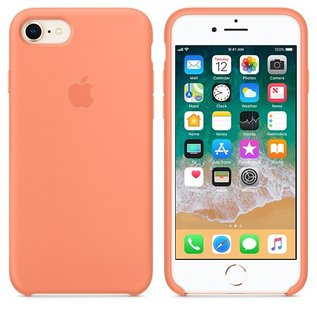 Apple Apple Silicone Case for iPhone 8/7 - Peach