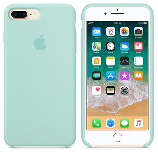 Apple Apple Silicone Case for iPhone 8/7 Plus - Marine Green