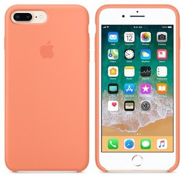 Apple Apple Silicone Case for iPhone 8/7 Plus - Peach