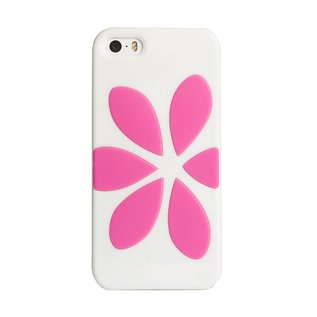Agent18 Agent18 FlowerVest case for iPhone 5 White/Pink (WSL)