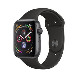 Apple Apple Watch Series 4 (GPS), 44mm Space Gray Aluminum Case with Black Sport Band