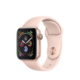 Apple Apple Watch Series 4 (GPS), 40mm Gold Aluminum Case with Pink Sand Sport Band