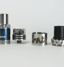 Compvape Twisted Messes RDA Silver/Blue