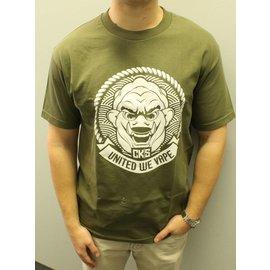 Cloud Kicker Society CKS Fujin's Seal Shirt Green