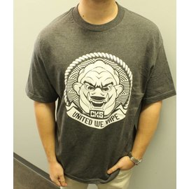 Cloud Kicker Society CKS Fujin's Seal Shirt Charcoal