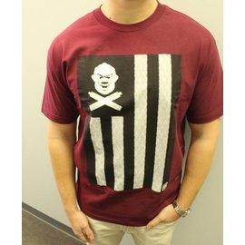 Cloud Kicker Society CKS United We Vape Shirt Maroon