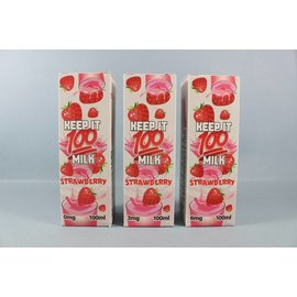 Keep It 100 Strawberry Milk 100ml