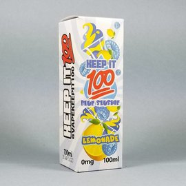 Keep It 100 Blue Slushie Lemonade 100ml