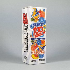 Keep It 100 Blue Slushie Tropical 100ml