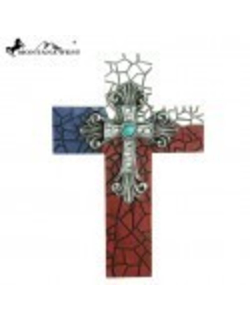 Montana West Montana West Texas Resin Wall Cross 14""