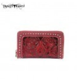 Montana West Montana West Trinity Ranch Tooled Design Wallet Color