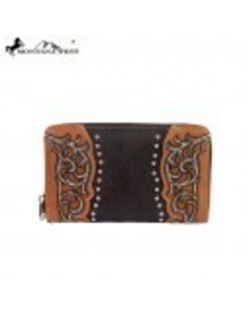 Montana West Montana West Tooling Collection Wallet Color