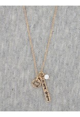 Texas Coordinate Necklace & Earrings