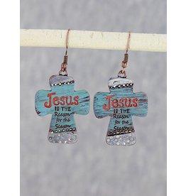 Jesus is the Reason Earrings