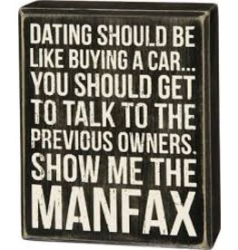 Manfax Box Sign