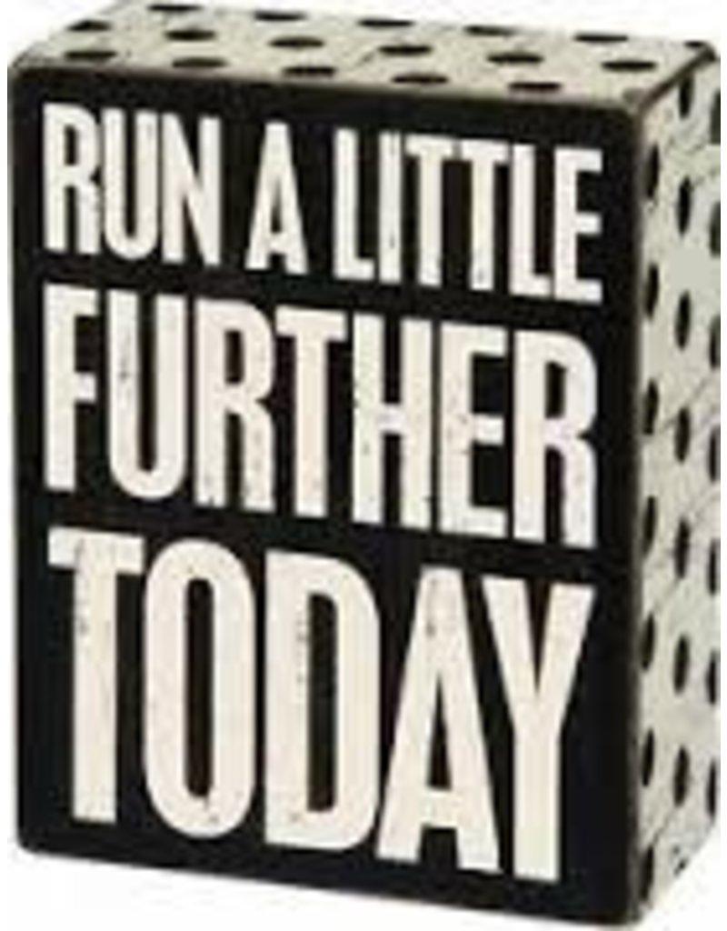 Run a Little Further