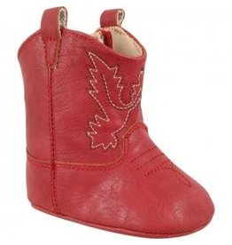 Red Crawling Western Boots