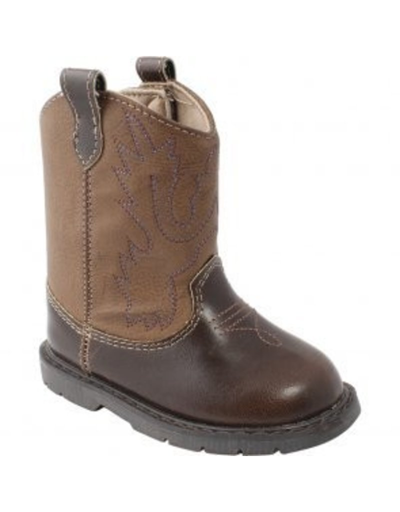 Brown / Taupe Western Boots