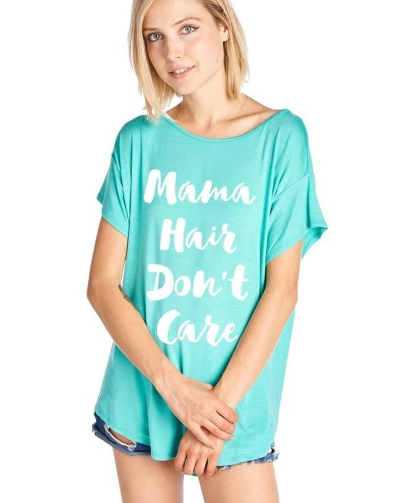 Aqua Mama Hair Don't Care Top