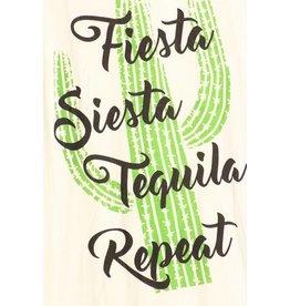 Racerback Tank Top Fiesta, Siesta, Tequila, Repeat (Ivory)