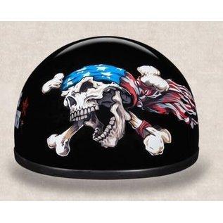 Daytona Helmets Daytona Half Helmet - Patriot