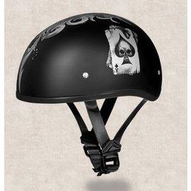 Daytona Helmets Daytona Half Helmet - Spades