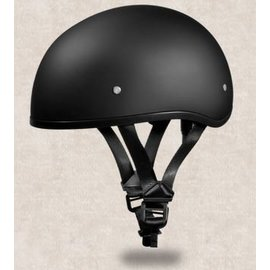 Daytona Helmets Daytona Half Helmet- Black