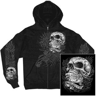 Hot Leather Hoodie Sweet Demise