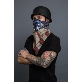 Hair Glove HG Bandana Mask Antique Americana