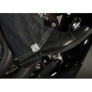 Biker Boot Straps Biker Boot Strap Police Dept 6in