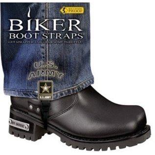 Biker Boot Straps Biker Boot Straps Army
