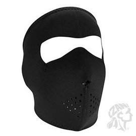 Zan Headgear Zan NHF Black Fleece Lined