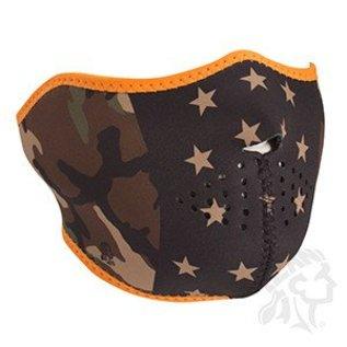 Zan Headgear Zan NHF Mask Camo Stars