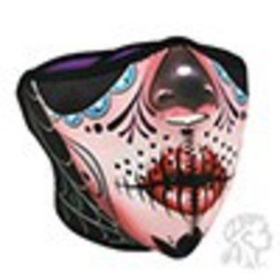 Zan Headgear Zan NHF Mask Sugar Skull