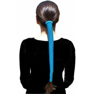 Wrapter Wrapter™ fits most lengths and thicknesses of ponytails to protect hair from tangles and wind, keeping hair out of your face.