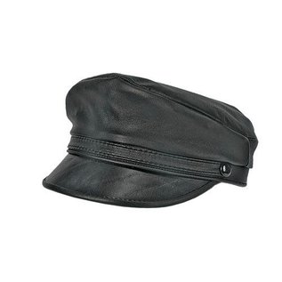 Carroll Companies Leather Brando Cap-L