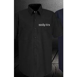 Nasty Baggers Work Shirt Nasty Vic Black L