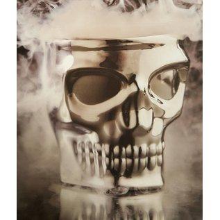 Kruzer, LLC Skull Kaddy Bar Mount Chrome