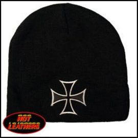 Hot Leather Stocking Cap Chopper Cross