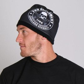 Hot Leather Cotton Beanie 2nd Amendment